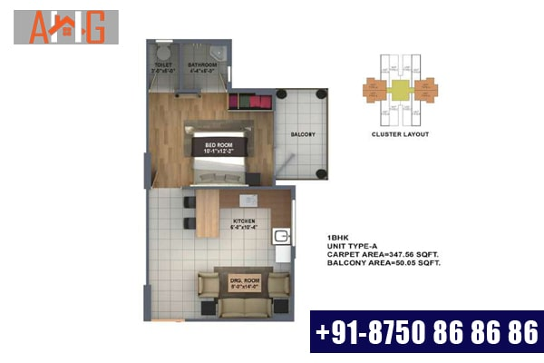 1 BHK (TYPE-A)
